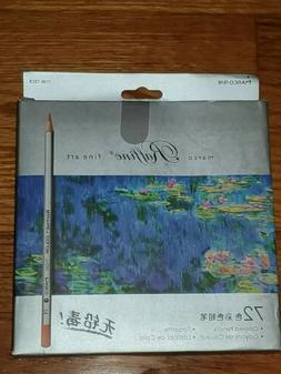 Marco Raffine Fine Art 72 Count Colored Pencils Drawing Supp