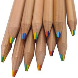 Rainbow Pencils - 7 Colors in 1 Pencil made from Natural Ced