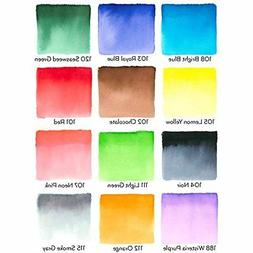 Arteza Real Brush Pens, 12 Paint Markers with Flexible Brush