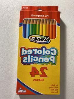 rose art 24 colored pencils