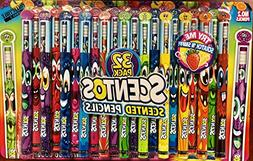Scentos Scented Pencils LIMITED EDITION - 32 Pack