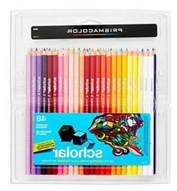 Prismacolor Scholar Colored Pencils Pack of 48 Counts