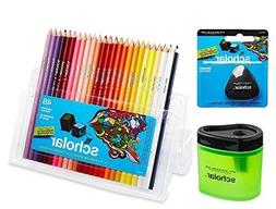 Prismacolor Scholar Colored Pencil and Accesory Set, Set of