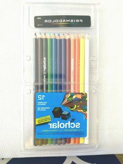 Prismacolor 92804 Scholar Colored Pencils, 12-Count