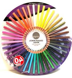 Simply Color Colour Pencil Wheel 40 Colored Pencils Easy Gri