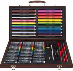 Sketch Drawing Art Set Painting Color Artist Kit Pencil Past
