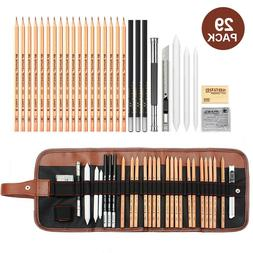 Sketch Drawing Pencil Set Art Supplies Artist Sketching Kit