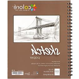 Colore Sketch Pad - Durable Sketching Paper And Notebook Mat