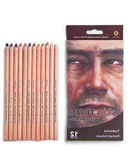 MEEDEN 12 Color Professional Skin Tints Soft Pastel Color Pe