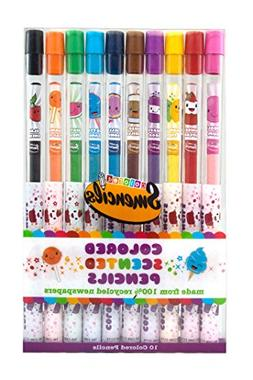 Scentco Colored Smencil 10-Packs of Scented Colored Pencils