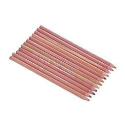 CHBC 12Pcs Professional Soft Pastel Pencils Wood Skin Tint P