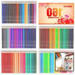 Soucolor 160 Colored Pencils Set Premium Art Drawing Pencils