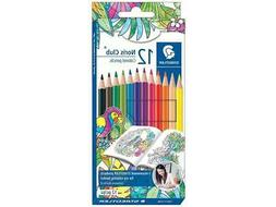 STAEDTLER STD02356  NORIS CLUB COLORED PENCILS 12PC