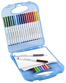 Crayola 04-5226 Super Tips Marker & Paper Set