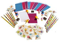Wiser Road Sweet Treats Ice Cream Notepads, Pencils, and Era