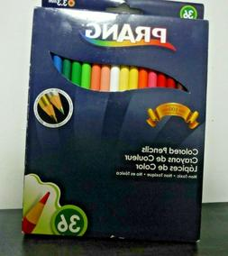 Prang Thick Core Colored Pencil Set, 3.3 Millimeter Cores, 7