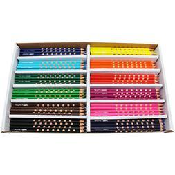 Dixon Ticonderoga Company DIX28144 Prang Groove Colored Penc