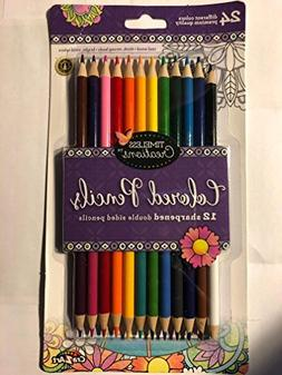 Cra-Z-Art Timeless Creations Adult Coloring: 12ct Double End