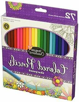 Cra-Z-Art Timeless Creations Adult Coloring: 72ct Colored Pe