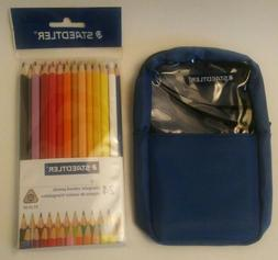 STAEDTLER 24 CT Triangular Colored Pencils 1270 With Pencil