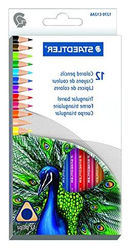 Staedtler 12CT Triangular Colored Pencils