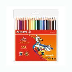 Stabilo Trio Thick Colored Pencil Set Of 18