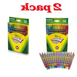 Crayola 30 Count Twistable Colored Pencils Drawing Art Tools