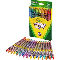 Crayola Twistables Colored Pencil Set, Gift Ages 3+ - 30 Cou