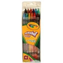 Crayola Twistables Colored Pencils 12-Color Set  - 12-Count