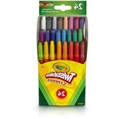 Crayola Twistables Colored Pencils 24 Count Set Kids Toddler