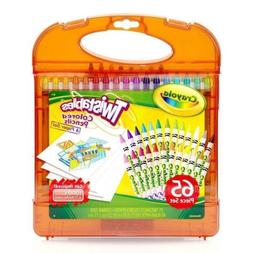 Crayola Twistables Colored Pencils & Paper Set, 65 Pieces No
