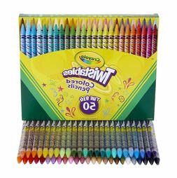 Crayola Twistables Colored Pencils, Assorted Colors Pack, Se