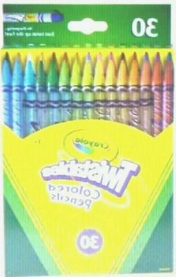 Crayola Twistables Colored Pencils, Assorted Colors, Set of