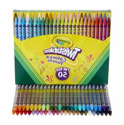 Crayola Twistables Colored Pencils Coloring Set, Gift Age 3+