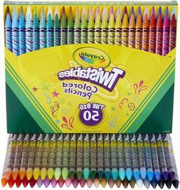 Crayola Twistables Colored Pencils Coloring Set, Gift Age 3+