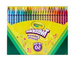 Crayola Twistables Colored Pencils Kids Indoor Coloring Set