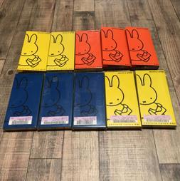 UNUSED FELISSIMO Miffy Colored pencils 100 colors Very rare