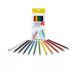 Up and Up Sharpened Colored Pencils Classic Colors 12 Pack N