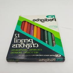 Vintage Pedigree Empire 12 Artist Colored Pencils Sketching