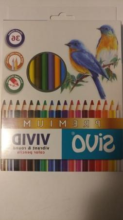 vivid premium colored pencils box set of