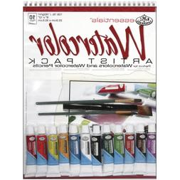 Royal & Langnickel Watercolor Artist Pack, 9-Inch by 12-Inch