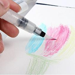Watercolor Brush Pens Professional 6 Pcs Set Paint Brushes M