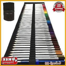 Watercolor Pencils Arist Set Dry Coloring Pencil Wet Water C