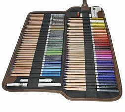 JNW Direct Watercolor Pencils, Best Water Soluble Colored Pe