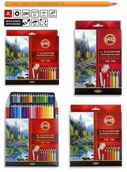 Mondeluz Aquarell Watercolor Pencils KOH-I-NOOR 24 36 48 72