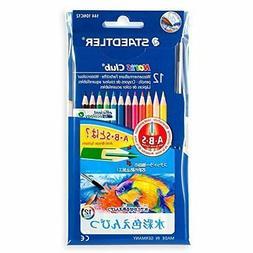 Staedtler watercolor pencils Norris Club 144 10NC12P 12 colo