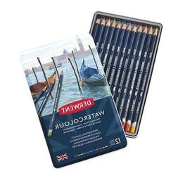 Derwent Watercolour Pencils 12-Color Set  - 12 Colors