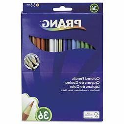 Dixon Ticonderoga 22360 Colored Woodcase Pencils  3.3 mm  36