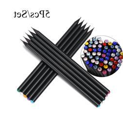 Wooden Writing Tool Hb Black Pencil Color Diamond Pen Drawin
