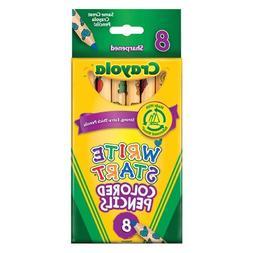 Crayola 8-Pack Write Start Colored Pencils Classpack